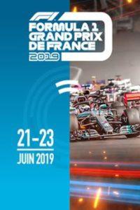 FORMULA1 circuit Paul Ricard au Castellet du 21 au 23 juin 2019